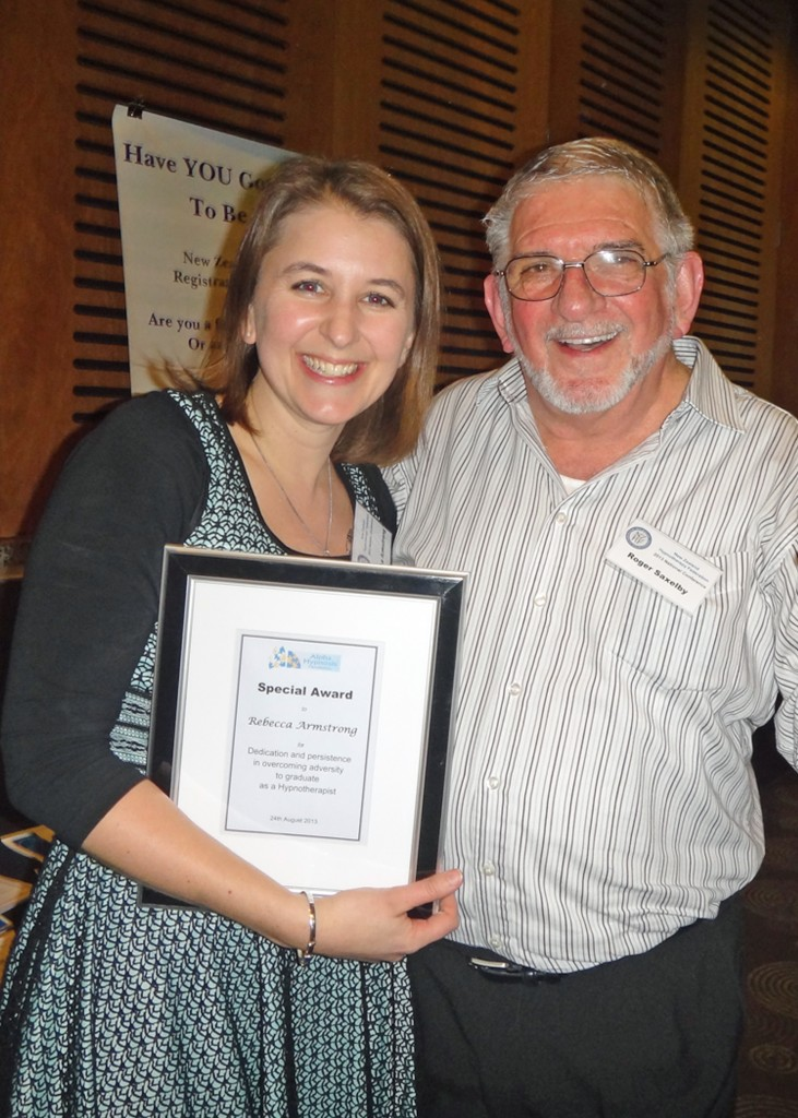 Special Award - NZHF Conference 2013
