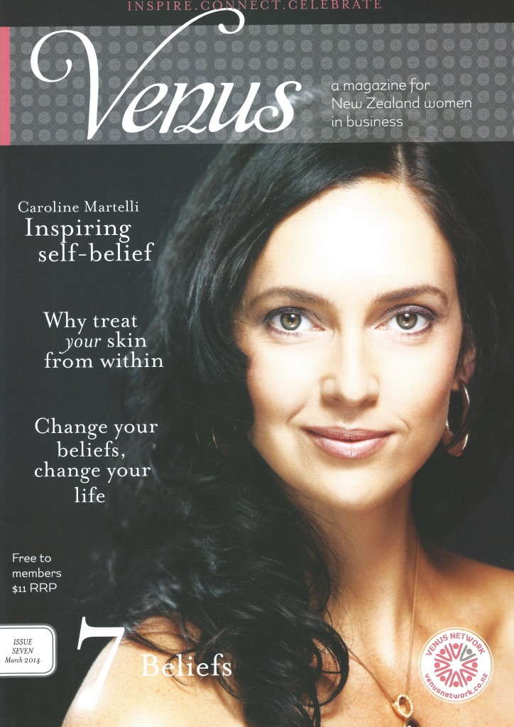 Venus Mag Autumn 2014 - Front Cover