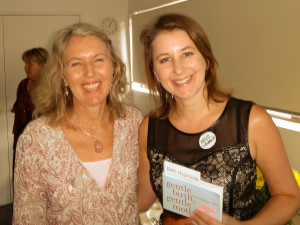 A calm and ecstatic birth. Clinical Hypnotherapist Rebecca Armstrong meeting Dr Sarah Buckley
