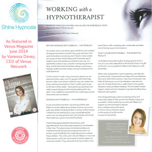 Working with a Hypnotherapist