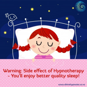 Hypnotherapy is proven to increase the quality of your sleep