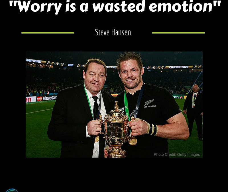 Worry is a Wasted Emotion